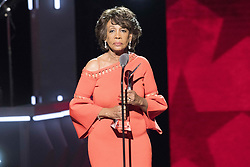 August 6, 2017 - New Jersey, U.S - Recipient of the Social Humanitarian award, Congresswoman MAXINE WATERS,  at the 2017 Black Girls Rock awards show. Black Girls Rock 2017 was held at the New Jersey Performing Arts Center in Newark New Jersey. (Credit Image: © Ricky Fitchett via ZUMA Wire)