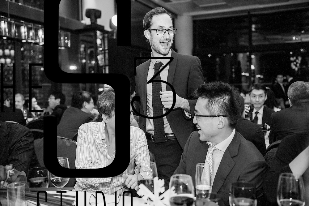 UBS guests attend the CEO Awards Asia Pacific 2012 dinner at the Azure in Hong Kong on 21 January 2013. Photo by Andy Jones / studioEAST