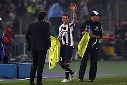 20.05.2012, Stadio Olympico, Rom, ITA, TIM Cup, Juventus Turin vs SSC Neapel, Finale, im Bild Alessandro Del Piero Juventus saluta i tifosi dopo la sostituzione // during the final football match of Italian TIM Cup between Juventus Turin and SSC Neapel at Stadio Olympico, Rome, Italy on 2012/05/20. EXPA Pictures © 2012, PhotoCredit: EXPA/ Insidefoto/ Paolo Nucci..***** ATTENTION - for AUT, SLO, CRO, SRB, SUI and SWE only *****
