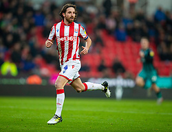 STOKE-ON-TRENT, ENGLAND - Saturday, January 25, 2020: Stoke City's Joe Allen during the Football League Championship match between Stoke City FC and Swansea City FC at the Britannia Stadium. (Pic by David Rawcliffe/Propaganda)