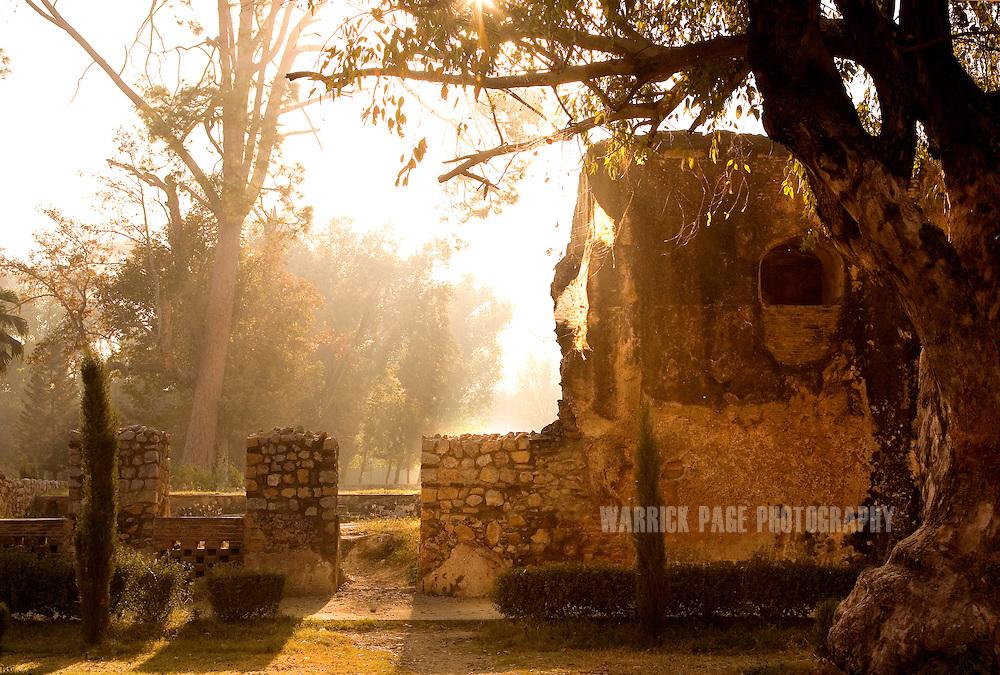 TAXILA, PAKISTAN - OCTOBER 31: Wah Bagh October 3, 2007, Taxila, Pakistan. (Photo by Warrick Page)