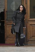 2013/03/28 Roma, parlamentari in piazza Montecitorio. Nella foto Emanuela Corda.<br /> Rome, politicians in Montecitorio Square. In the picture Emanuela Corda  - &copy; PIERPAOLO SCAVUZZO