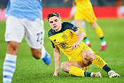 James Forrest of Celtic during the UEFA Europa League, Group E football match between SS Lazio and Celtic FC on November 7, 2019 at Stadio Olimpico in Rome, Italy - Photo Federico Proietti / ProSportsImages / DPPI