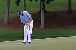 August 11, 2017 - Charlotte, North Carolina, United States - Ernie Els putts the 17th green during the second round of the 99th PGA Championship at Quail Hollow Club. (Credit Image: © Debby Wong via ZUMA Wire)