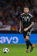 Nicolas Otamendi of Argentina during the International friendly game football match between Spain and Argentina on march 27, 2018 at Wanda Metropolitano Stadium in Madrid, Spain - Photo Rudy / Spain ProSportsImages / DPPI / ProSportsImages / DPPI