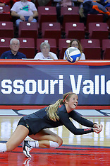 2017 MVC Women's Volleyball Tournament photos