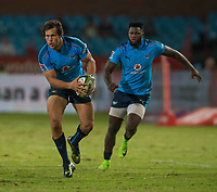 PRETORIA, SOUTH ARICA - MARCH 17: Jan Serfontein of the Vodacom Bulls on attack during the Super Rugby match between Vodacom Bulls and Sunwolves at Loftus Versfeld on March 17, 2017 in Pretoria, South Africa. (Photo by Anton Geyser/Gallo Images)