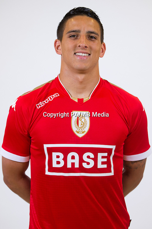 Standard's Anthony Knockaert pictured during the 2015-2016 season photo shoot of Belgian first league soccer team Standard de Liege, Monday 13 July 2015 in Liege.