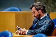 DEN HAAG - Thierry BAudet forum voor democratie  in de Tweede Kamer voor het wekelijkse vragenuurtje. ROBIN UTRECHT