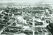 The centre of Krupp's factory at Essen circa 1910.