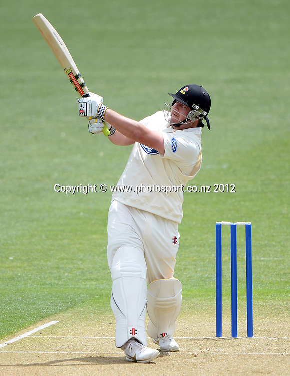 Wellington's Jesse Ryder. Plunket Shield Cricket, Auckland Aces v Wellington Firebirds at Eden Park Outer Oval. Auckland on Monday 26 November 2012. Photo: Andrew Cornaga/Photosport.co.nz