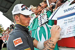 20.07.2010, An der Kreuzeiche, Reutlingen, GER,  SSV Reutlingen vs SV Werder Bremen Targo Bank Cup - Friendly Match  1. FBL 2010  im Bild  Marko Arnautovic (Werder #07 )  bei den Fans    EXPA Pictures © 2010, PhotoCredit: EXPA/ nph/  Kokenge+++++ ATTENTION - OUT OF GER +++++ / SPORTIDA PHOTO AGENCY