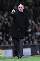 Fotball<br /> Italia<br /> Foto: Inside/Digitalsport<br /> NORWAY ONLY<br /> <br /> Alex Ferguson (Manchester)<br /> <br /> 10.04.2008<br /> Champions League Quarter finals<br /> Manchester United v AS Roma (1-0)