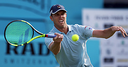 USA's Sam Querrey during day one of the Fever-Tree Championship at the Queens Club, London.