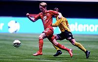Fotball , 20 . november 2015 , NM finale G16<br /> Brann - Lillestrøm 1-4<br /> Håkon Gjæver Gjerstad , Brann<br /> Lars Mogstad Ranger , LSK