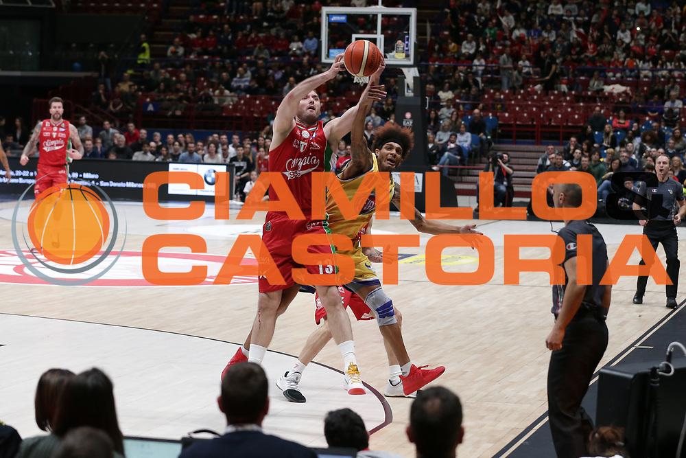 Washington Deron<br /> EA7 Olimpia Milano vs Auxilium Fiat Torino<br /> Lega Basket Serie A 2016/2017<br /> Milano 05/03/2017<br /> Foto Ciamillo-Castoria/A. Gilardi
