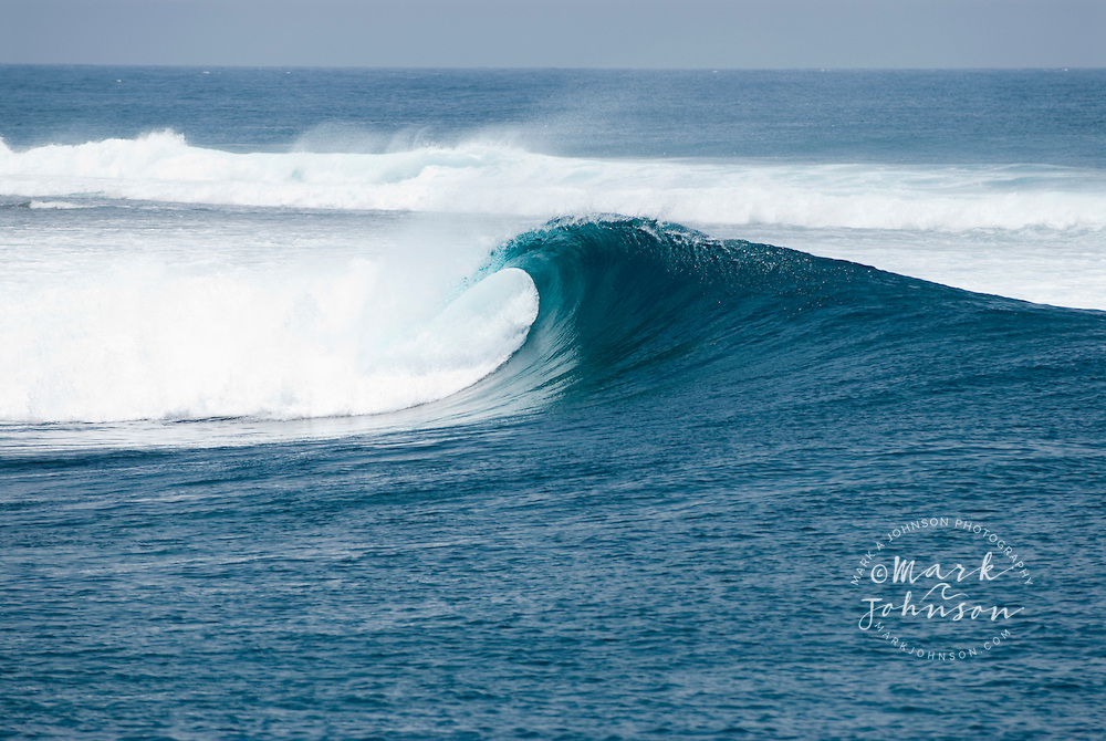Waves/Surfing spot lineup in the Mentawai Islands, Indonesia