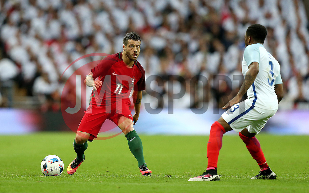 Vieirinha of Portugal takes on Danny Rose of England - Mandatory by-line: Robbie Stephenson/JMP - 02/06/2016 - FOOTBALL - Wembley Stadium - London, United Kingdom - England v Portugal - International Friendly