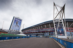 June 2, 2017 - Cardiff, South Glamorgan, Wales - A general view of the National Stadium of Cardiff on the eve of the UEFA Champions League Final match between Real Madrid and Juventus at the National Stadium of Wales, Cardiff, Wales on 2 June 2017. (Credit Image: © Giuseppe Maffia/NurPhoto via ZUMA Press)
