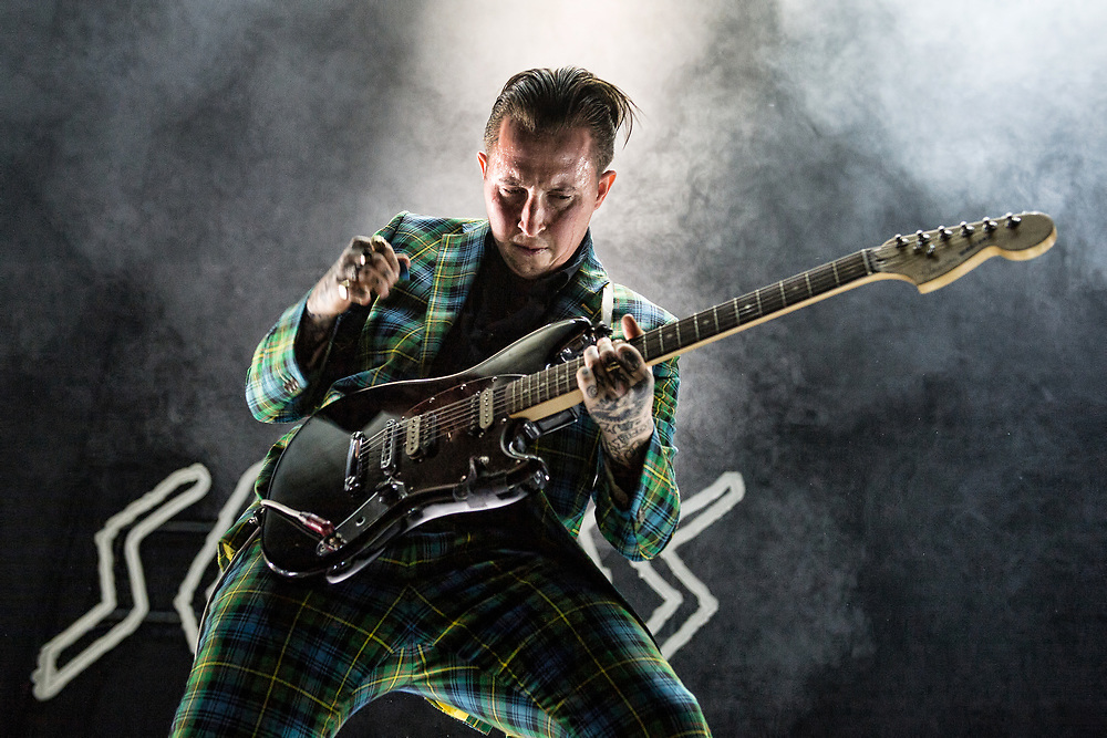 Slaves in concert at the SSE Hydro, Glasgow, Scotland, Britain 25th November 2017