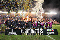 Victoire Sharks - 05.02.2015 - Rugby Masters - Toulon / Sharks<br />Photo : JC Magnenet / Icon Sport
