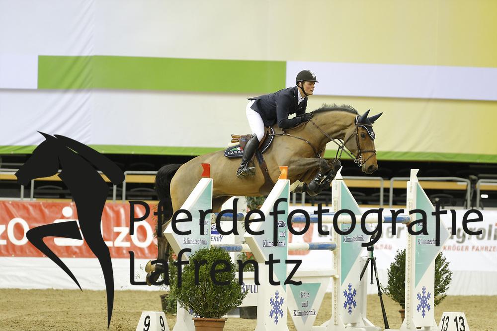 Tebbel, Maurice, Sansibar<br /> Oldenburg - Agravis Cup<br /> Nationales Springen<br /> © www.sportfotos-lafrentz.de/ Stefan Lafrentz