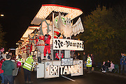 Re-Vamped by Britannia Carnival Club at Glastonbury and Chilkwell Guy Fawkes Carnival, 2013.