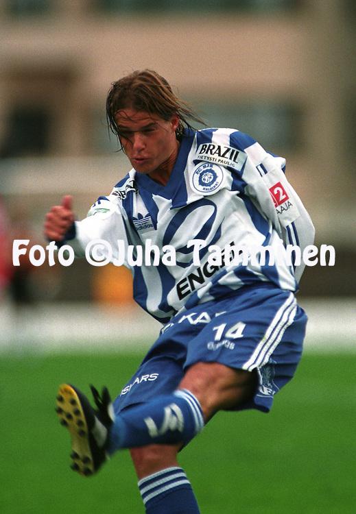 06.06.1995.Mika Lehkosuo - HJK Helsinki.©JUHA TAMMINEN
