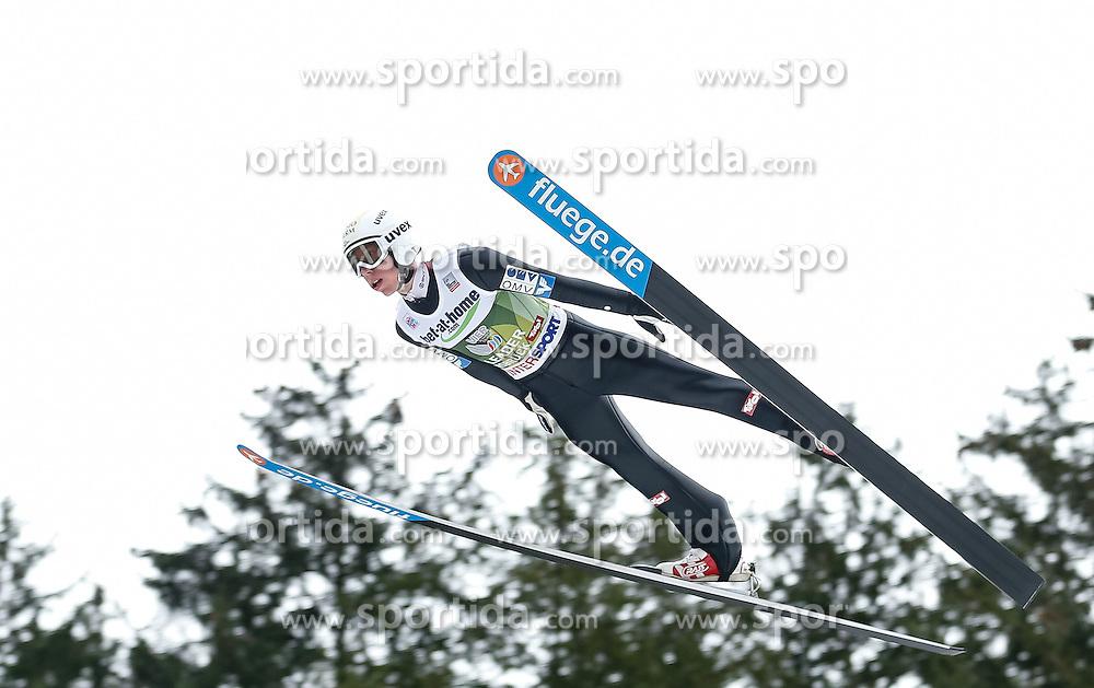 04.01.2014, Bergisel Schanze, Innsbruck, AUT, FIS Ski Sprung Weltcup, 62. Vierschanzentournee, Probesprung, im Bild Thomas Diethart (AUT) // Thomas Diethart of Austria during Trial Jump of 62nd Four Hills Tournament of FIS Ski Jumping World Cup at the Bergisel Schanze, Innsbruck, Austria on 2014/01/04. EXPA Pictures © 2014, PhotoCredit: EXPA/ Peter Rinderer