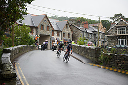 Emilie Moberg (NOR) leads an early break at OVO Energy Women's Tour 2018 - Stage 5, a 122 km road race from Dolgellau to Colwyn Bay, United Kingdom on June 17, 2018. Photo by Sean Robinson/velofocus.com