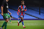 Jason Lokilo makes his way to take a corner during the Final Third Development League match between U21 Crystal Palace and U21 Bristol City at Selhurst Park, London, England on 3 November 2015. Photo by Michael Hulf.