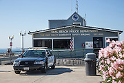 Seal Beach Police Department and The Jack Haley Community Safety Building at the Seal Beach Pier