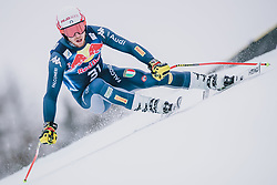 25.01.2020, Streif, Kitzbühel, AUT, FIS Weltcup Ski Alpin, Abfahrt, Herren, im Bild Mattia Casse (ITA) // Mattia Casse of Italy in action during his run in the men's downhill of FIS Ski Alpine World Cup at the Streif in Kitzbühel, Austria on 2020/01/25. EXPA Pictures © 2020, PhotoCredit: EXPA/ JFK
