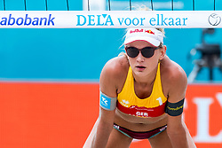 19-07-2018 NED: CEV DELA Beach Volleyball European Championship day 5<br /> Margareta Kozuch #1 GER