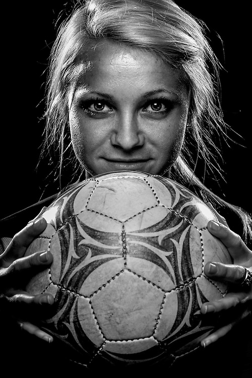 Barron Collier High School's Jamie Lockie, 2009-2010 Girl's Soccer Player of the Year. David Albers/Staff