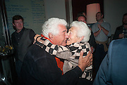 ANTONIO CARLUCCIO; ELSPETH JUDA, Launch party for the publication of Antonio Carluccio's memoirs, A Recipe for Life, . Carluccio's in Covent Garden Garrick St. London.  26 September 2012
