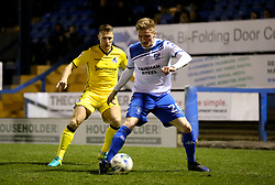Taylor Moore of Bury and Lee Brown of Bristol Rovers - Mandatory by-line: Matt McNulty/JMP - 14/03/2017 - FOOTBALL - Gigg Lane - Bury, England - Bury v Bristol Rovers - Sky Bet League One