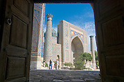 Mosque at the Registan, Samarkand, Uzbekistan