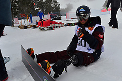 Europa Cup Finals Banked Slalom, ECKHART Renee, AUT at the 2016 IPC Snowboard Europa Cup Finals and World Cup