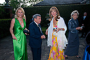 TANIA BRYER; SOL KERZNER; HEATHER KERZNER, The Ormeley dinner in aid of the Ecology Trust and the Aspinall Foundation. Ormeley Lodge. Richmond. London. 29 April 2009