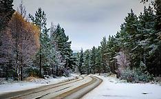 Snow scenes | Scottish Highlands | 13 November 2017