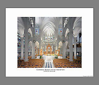 Custom printed, signed, and numbered 19x24 poster of the Cathedral Basilica of the Assumption in Covington, Kentucky