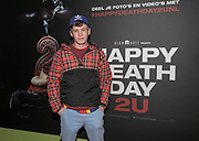 2019, Februari 12. Pathe de Munt, Amsterdam. Premiere van Happy Death Day 2U. Op de foto: Govert Sweep