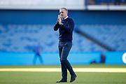 Garry Monk of Sheffield Wednesday applauds fans after the EFL Sky Bet Championship match between Sheffield Wednesday and Fulham at Hillsborough, Sheffield, England on 21 September 2019.
