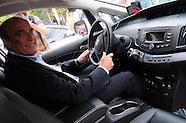 Auto eléctrico que trasladará al Intendente de Montevideo