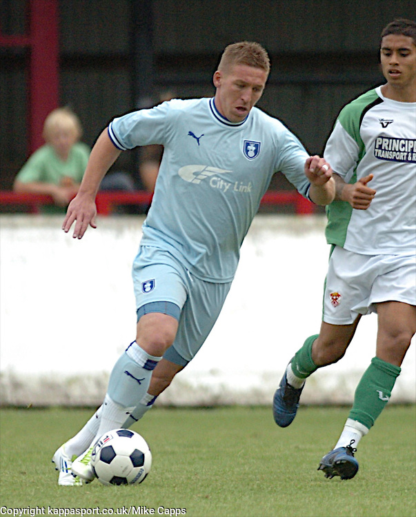 FREDDY EASTWOOD, COVENTRY CITY, Kettering Town v Coventry City FC, Pre Season Friendly, Saturday 23rd July 2011