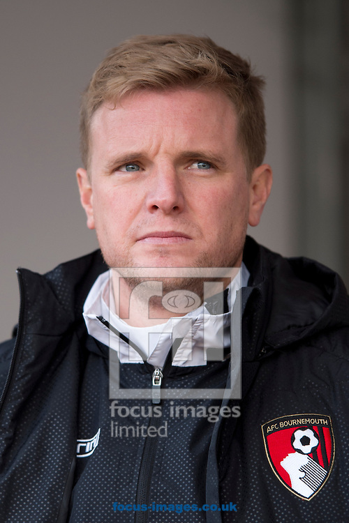 Bournemouth manager Eddie Howe before the Sky Bet Championship match at the New York Stadium, Rotherham<br /> Picture by Russell Hart/Focus Images Ltd 07791 688 420<br /> 17/01/2015