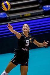 22-08-2017 NED: World Qualifications Belgium - Czech Republic, Rotterdam<br /> Laura Heyrman #5 of Belgium