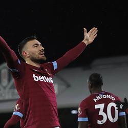 Fulham v West Ham United, Premier League, 15 December 2018