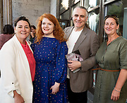 18/07/2018 repro free:  Michelle Ní Chróinín, NUI Galway, Jen Coppinger and Paul Fahy with Gwen O'Sullivan NUIG   at the world premiere of Incantata by Paul Muldoon starring Stanley Townsend and directed by Sam Yates. Incantata is a Galway International Arts Festival and Jen Coppinger production and is now on at the Town Hall Theatre, Galway until Friday July 27as part of GIAF18. Incantata is a deeply moving rollercoaster ride of a show starring one of Ireland's leading actors.  Photo:Andrew Downes, XPOSURE